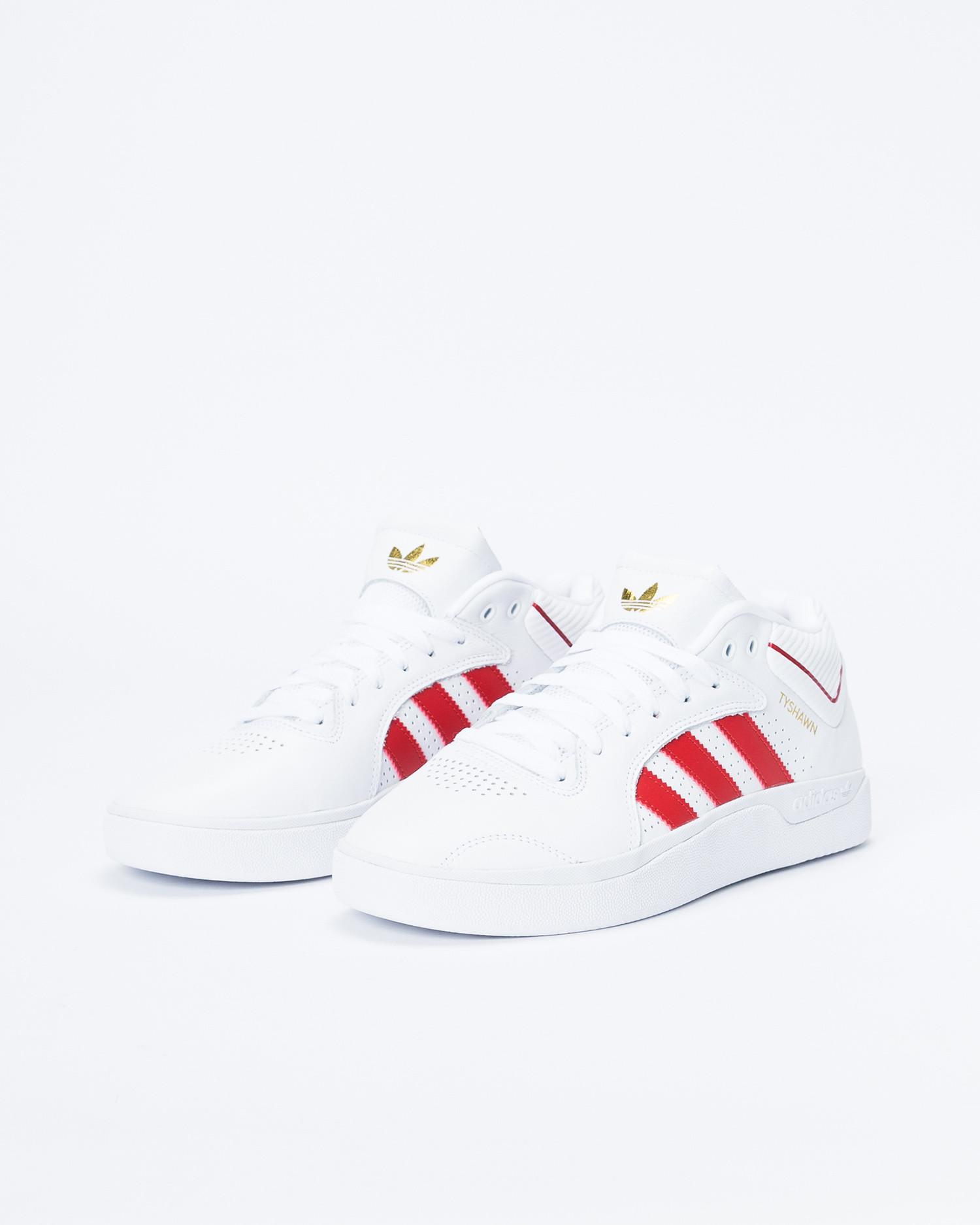 Adidas Tyshawn Footwear White/Scarlet/Footwear White