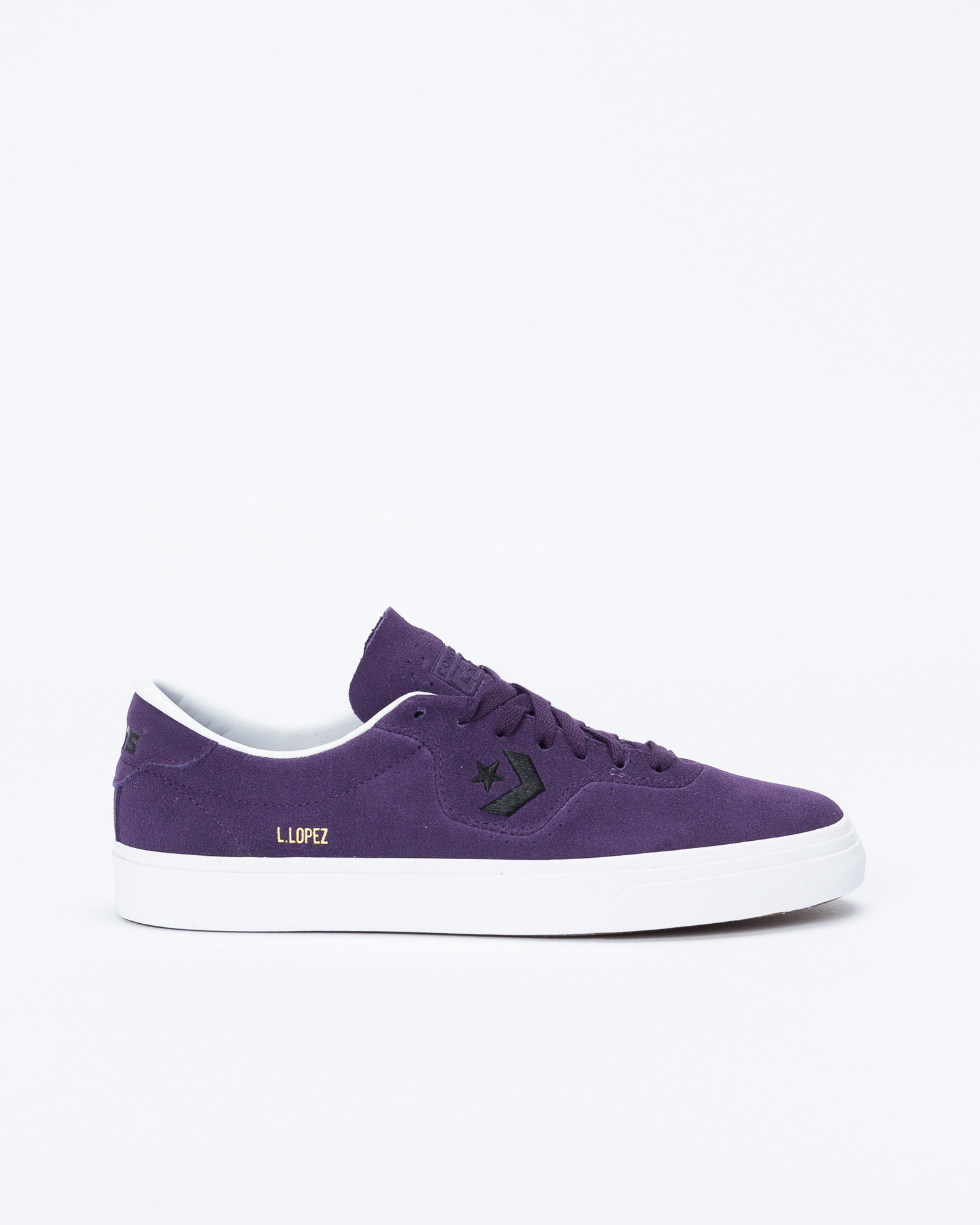 Converse Louie Lopez Pro Rubber Backed Suede OX Grand Purple/Black/White