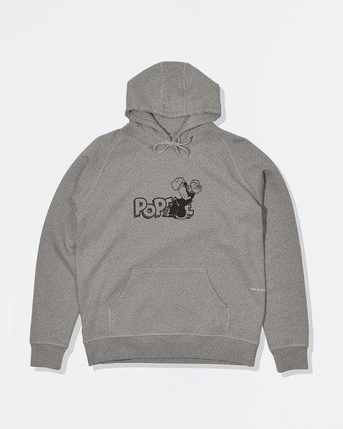 Pop Trading Co Pop Trading Co X Popeye hoodie heather grey