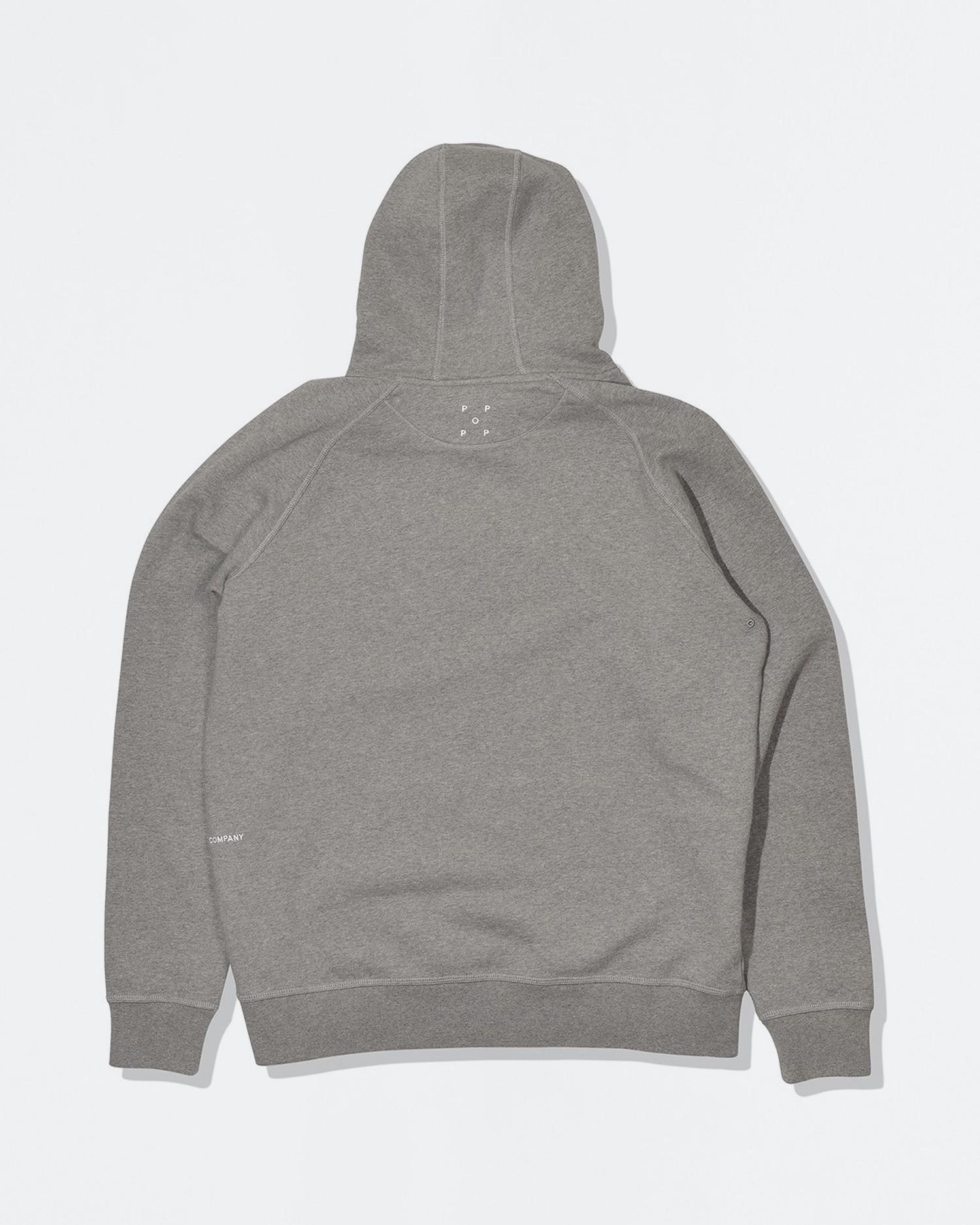 Pop Trading Co X Popeye hoodie heather grey