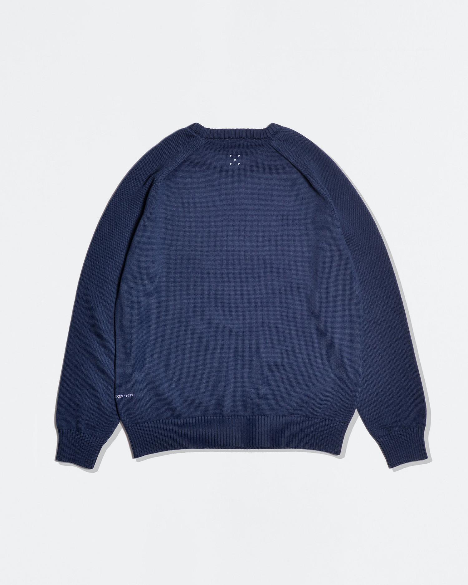 Pop Trading Co X Popeye knit navy