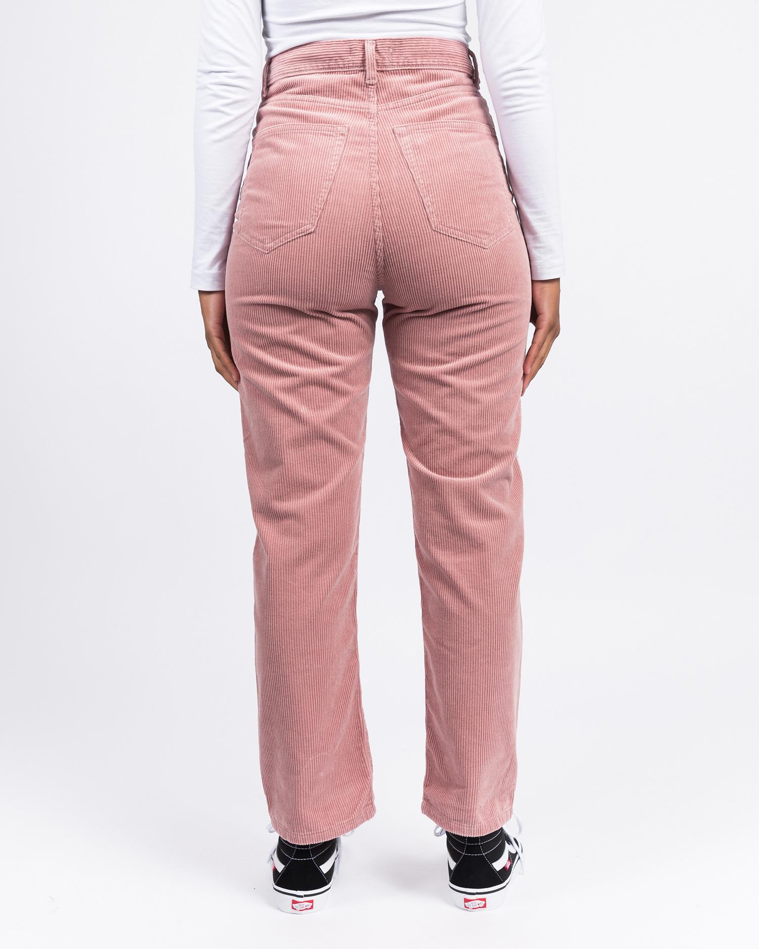 Carhartt W' Newport Pant Blush Rinsed