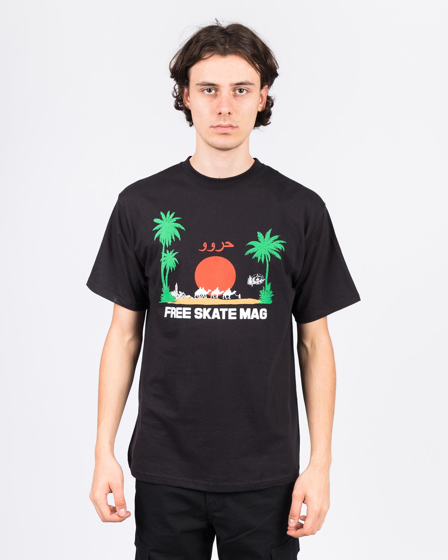 Free Skate Mag OG Marrakesh T-Shirt Black