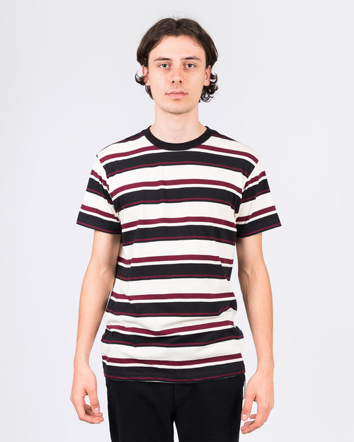 Former Former Special Stripe Tee Red/Black/Creme