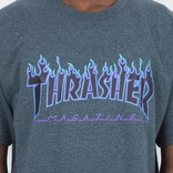 Thrasher Flame T-shirt Dark Heather