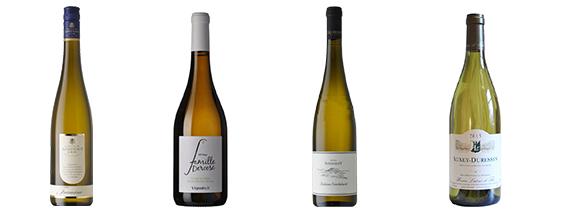 4 witte volle wijnen