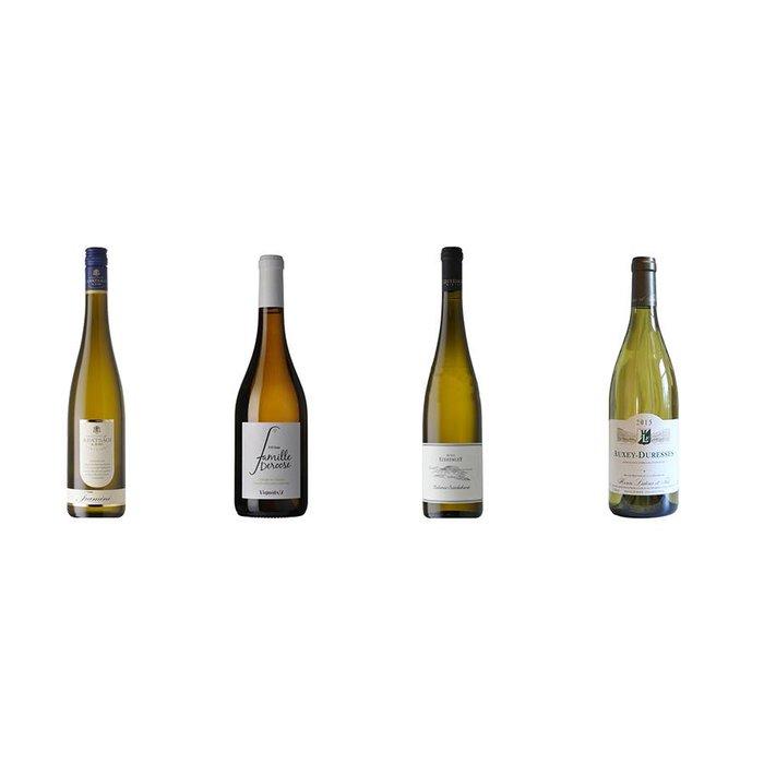 4 witte wijnen