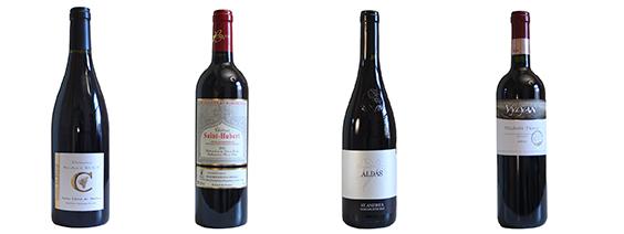 4 fruitige rode wijnen