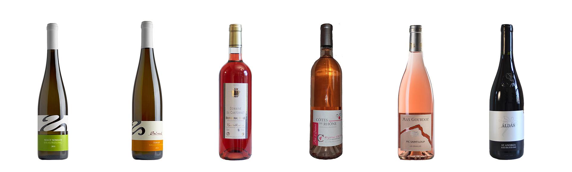 Wijnpakket van 6 mooi weer wijnen