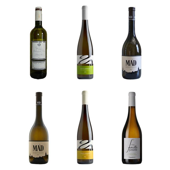 6 vins blancs