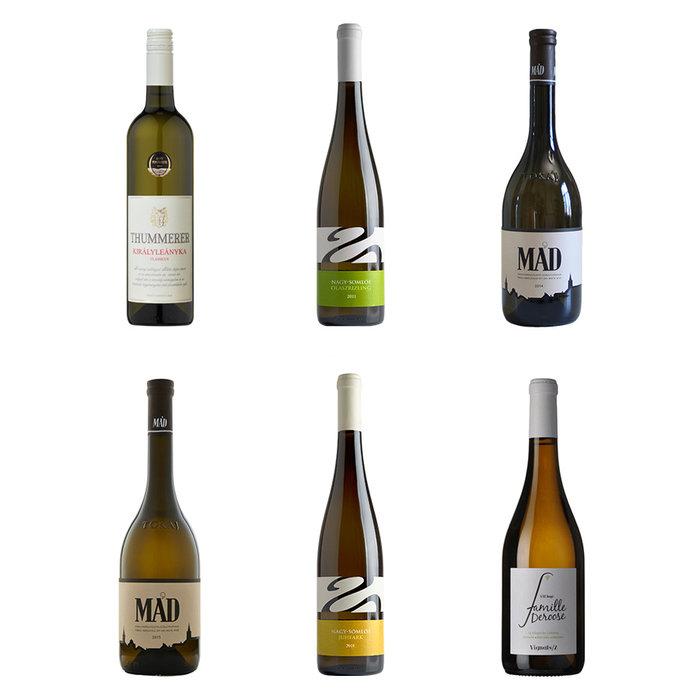 6 witte wijnen