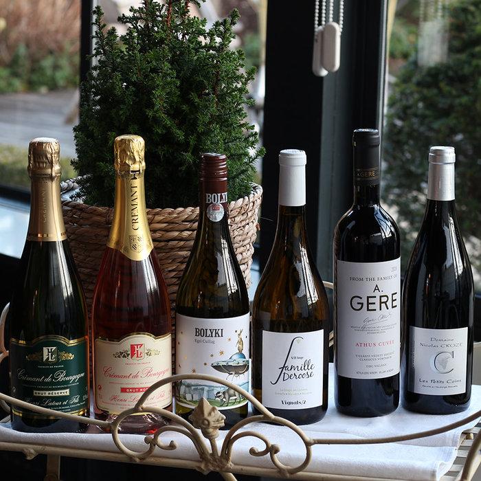 Colis de vins fins