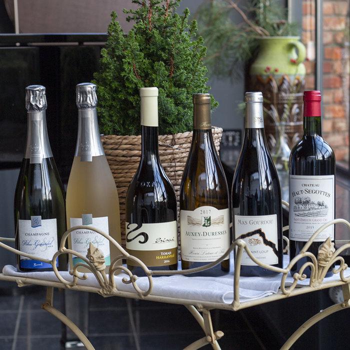 Pakket top wijnen