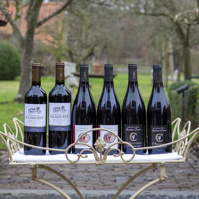 Pakket 3 mono cepage wijnen - rood