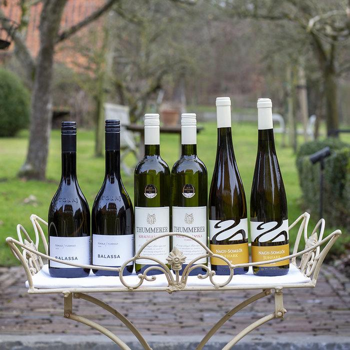 Pakket 3 mono cepage wijnen - wit