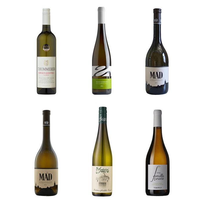 Coli avec 6 vins blancs