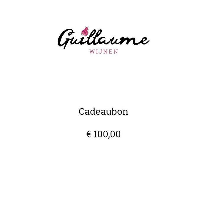 Bon cadeau € 100