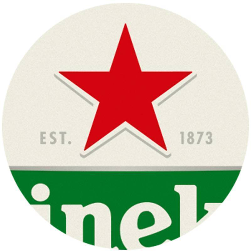 Heineken Bierdeckel (100 Stück)