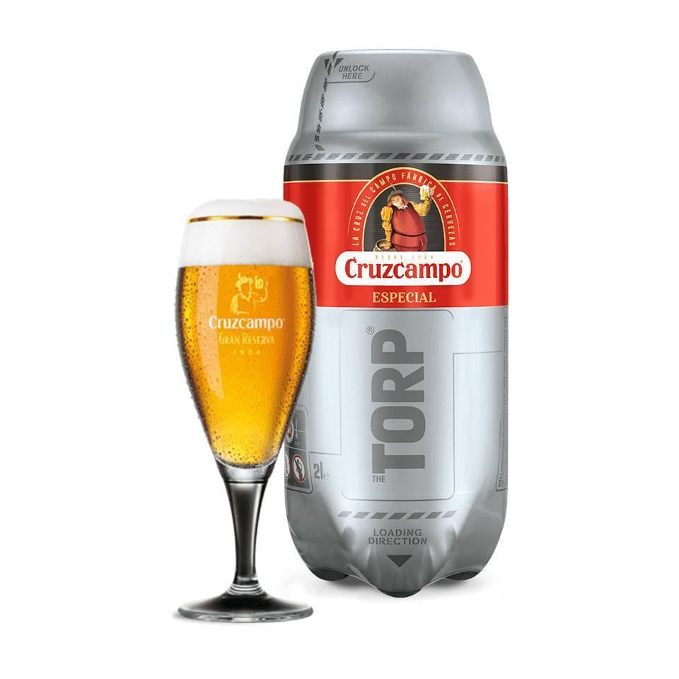 Cruzcampo Especial TORP für Beertender Eintausch