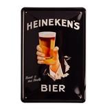 Heineken   Wandteller Hand