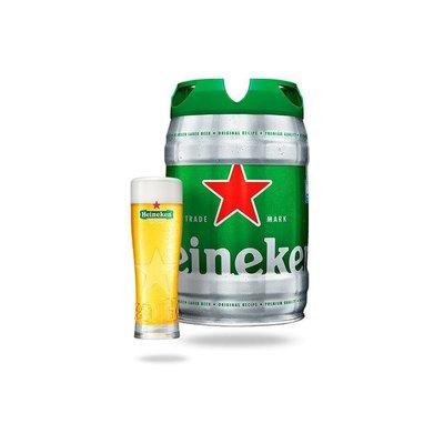 Heineken 5L Draught Keg  -Best before 30/04/2019