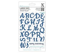 Xcut Large Dies (29pcs) - Script Alphabet Upper Case (XCU 504081)