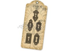 Graphic 45 Ornate Metal Key Holes (4500546)