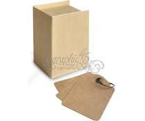 Graphic 45 ATC Book Box Kraft (4500845)