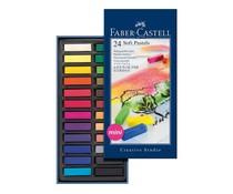 Faber Castell Zachte Pastelkrijt Mini Etui 24 pcs (FC-128224)
