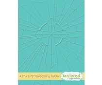 Taylored Expressions Redeemer Embossing Folder (TEEF64)