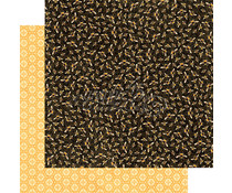 Graphic 45 Harmonious Honeybees 12x12 Inch 25pc. (4501480)
