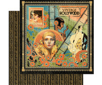 Graphic 45 Vintage Hollywood 12x12 Inch 25pc. (4501524)