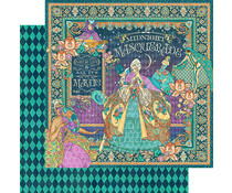 Graphic 45 Midnight Masquerade 12x12 Inch 25pc. (4501540)
