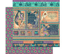 Graphic 45 Savor the Magic 12x12 Inch 25pc. (4501544)