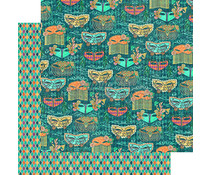 Graphic 45 Venetian Carnival 12x12 Inch 25pc. (4501546)