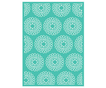 Cricut Cuttlebug 5x7 Inch Embossing Folder Flower Grid (2003464)