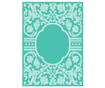 Cricut Cuttlebug 5x7 Inch Embossing Folder Baroque Vine Frame (2003457)