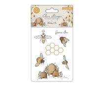 Craft Consortium Tell the Bees Clear Stamps (CCSTMP002)