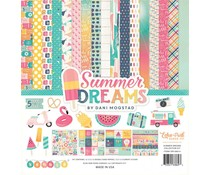 Echo Park Summer Dreams 12x12 Inch Collection Kit (DR126016)