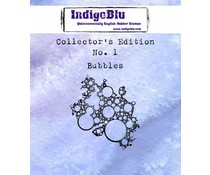 IndigoBlu Collectors Edition 1 Rubber Stamp - Bubbles (IND0329)