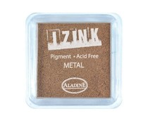 Aladine Large Inkpad Izink Pigment Metal Copper (19421)