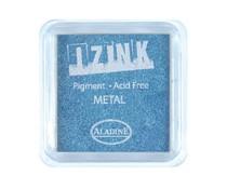 Aladine Inkpad Izink Pigment Metal Light Blue (19129)