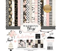 Echo Park Wedding Bliss 12x12 Inch Collection Kit (WB129016)