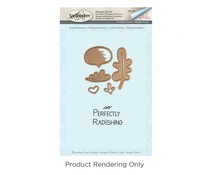 Spellbinders Perfectly Radishing Stamp And Die Set (SDS-048)
