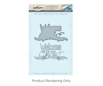 Spellbinders Welcome Wee One Stamp And Die Set (SDS-033)