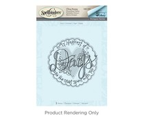 Spellbinders Days 3D Shading Stamp (DSC-040)