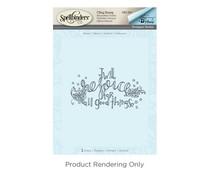 Spellbinders Rejoice 3D Shading Stamp (DSC-037)