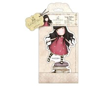 Gorjuss Large Rubber Stamp - New Heights (GOR 907255)