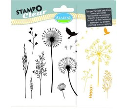 Aladine Gramines Clear Stamps (04222)