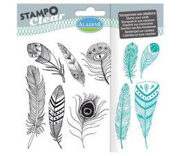 Aladine Feathers Clear Stamps (04200)